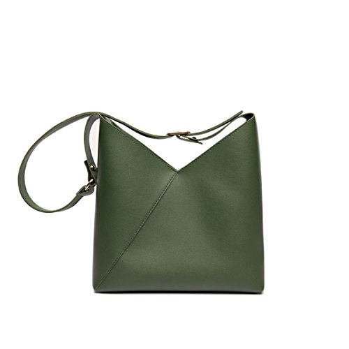 Mère HAOXIAOZI Sac fille Main à Sac Dames Simple Mode Green Black Shopping à Bandoulière pHrfYHwq
