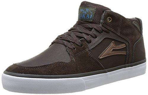 Lakai Telford Aw - Zapatillas de skateboarding para hombre Marron (Coffee Suede)