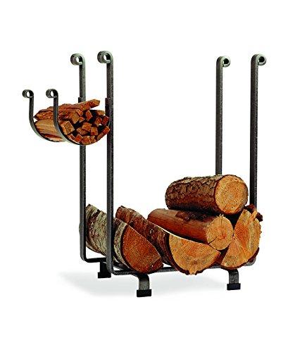 Enclume Log Rack (Enclume Indoor/Outdoor Rectangle Fireplace Log Rack, Hammered Steel)