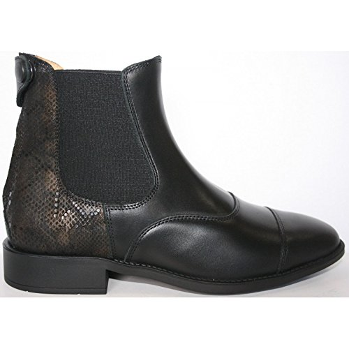 Busca nbsp;nero Pelle In Boots Fashion 36 q1XtW5cW
