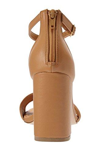Comfortview Womens Wide Belle Sandals Suntan m0fUT