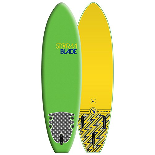 StormBlade 6ft Surfboard // Foam Wax Free Soft