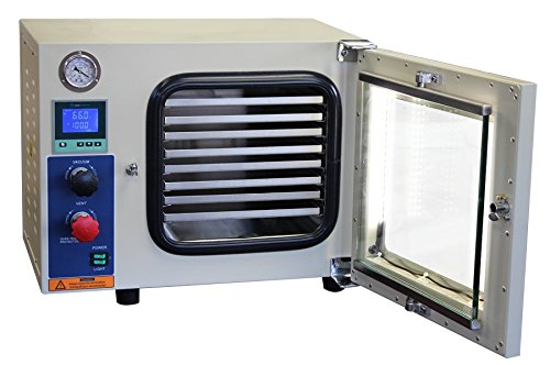 Across International AT09.220 Ai AccuTemp 5 Sided Heating Vacuum Oven with Back-Fill Capability, Limited Time Special, 220V, 0.9 cu. ft.