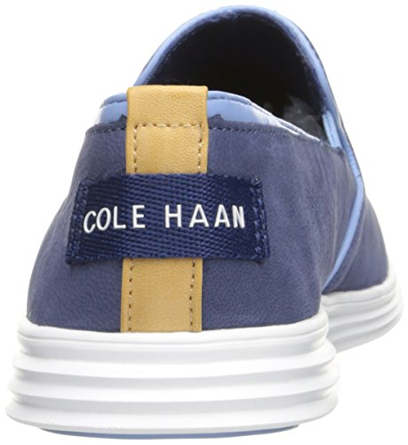 Cole Haan Donna Ella Grand 2gore Slip-on Mocassino Lavato Indaco / Bianco Ottico