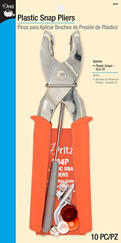 Dritz 984P Snap Pliers for Plastic Snaps from Dritz