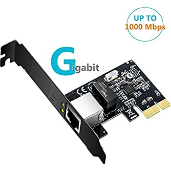 Amazon.com: EDUP Gigabit Ethernet PCI Express PCI-E Network ...