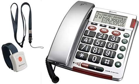 Notfalltelefon Für Senioren Mit Armband Sos Computer Zubehör