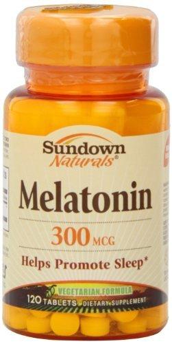 Amazon.com : Sundown Naturals Melatonin, 300 mcg, Tablets, 120 tablets by Sundown Naturals : Baby