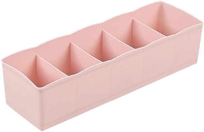 Demarkt Caja de Almacenamiento de Cajon de Plastico Caja de Almacenaje Compartimentos Organizador Ropa Interior Calcetines Corbatas Cinturones 1PCS: Amazon.es: Hogar
