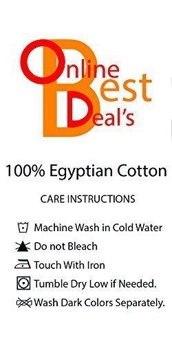 OnlineBestDeal's Classy Royal 100% Cotton Velvet Bedskirt/Valance 18'' Drop (Cal-King, Silver) by OnlineBestDeal's (Image #3)
