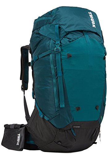 Cordura Pack Internal Frame (Thule Versant 60L Women's Backpacking Pack, Deep Teal)