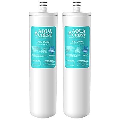 AQUACREST Replacement DW80/90 Under Sink Water Filter, Compatible with Aqua-Pure AP-DW80/90, Kohler K-201-NA, Kohler K-202-NA (Pack of 2)