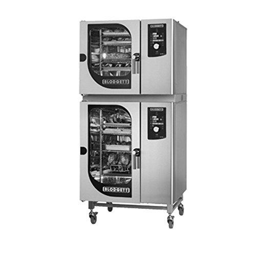 Blodgett BCM-61-101E Combi Oven Steamer Electric boiler BCM-61E stacked on BCM-1