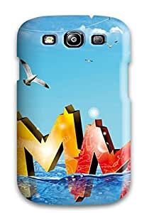 Series Skin For HTC One M7 Case Cover (beautiful Cool Summer)