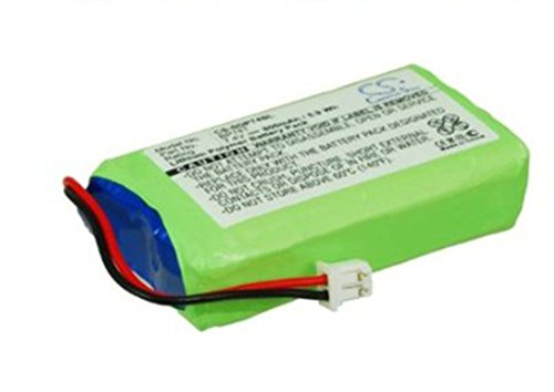 Cameron Sino BP74T / CS-SDP74SL 7.4V 800mAh Lithium Polymer Dog Collar Replacement Battery for DOGTRA 2500 and 3500 Transmitters