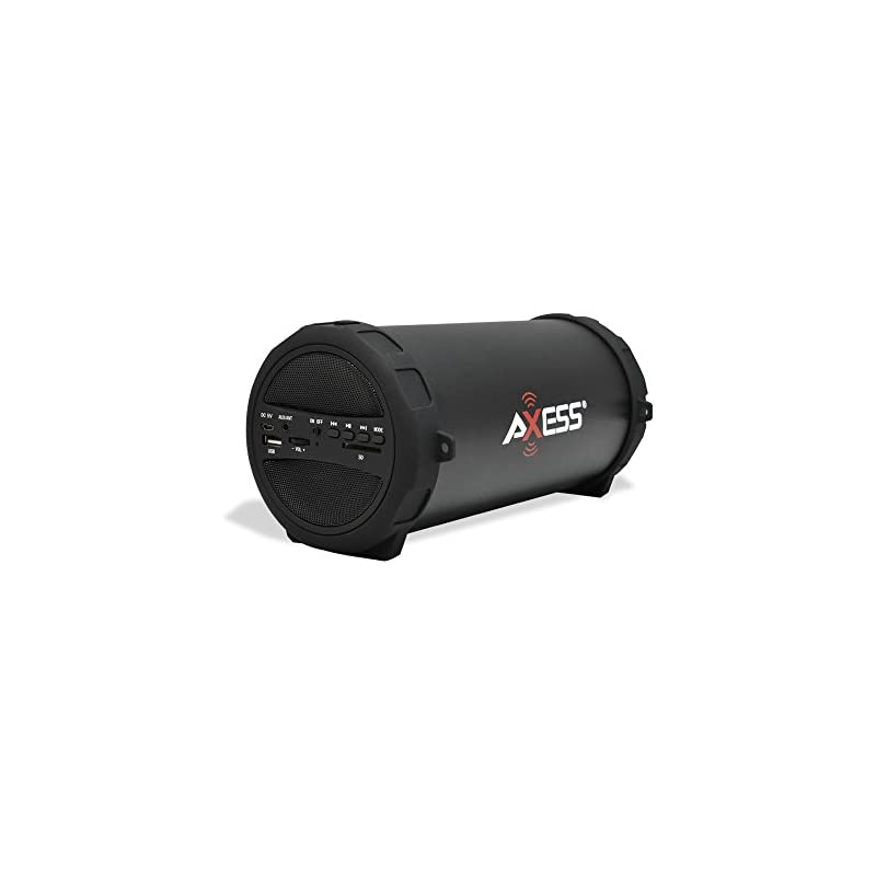AXESS SPBT1041 Portable Thunder Sonic Bl