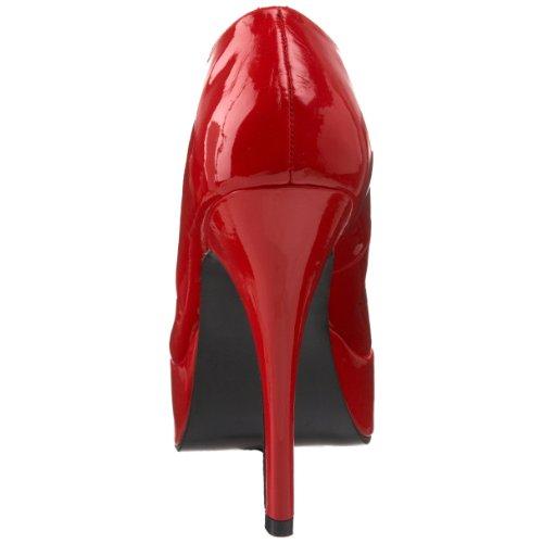 Pleaser INDULGE-520 8483 - Zapatos para mujer Vernis