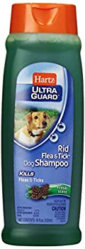 This cleansing shampoo effectively kills fleas and ticks.