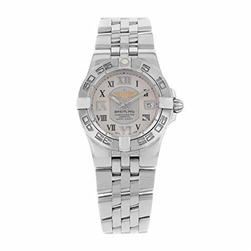 Breitling Galactic 30 analog-quartz womens Watch A71340L2/G670-368A (Certified Pre-owned)
