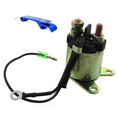 TC-Motor Solenoid Starter Relay For Honda GX160 5.5HP GX200 6.5HP Engine Generator For Go Kart TBM80 GK80 GK196 MID GK-1 GK-2 5.5HP 6.5HP For TrailMaster TBM80 GK80 GK196 MID GK-1 GK-2 5.5HP 6.5HP