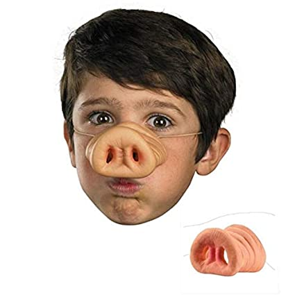 Scary Mask - Halloween Scary Mask Pig Nose Clown Dress Up