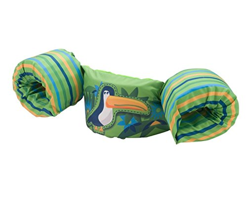 Stearns Puddle Jumper Deluxe Life Jacket, Toucan, 30-50 (Life Vest Pool)