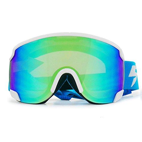 Cilindro esquí montañismo de Antiniebla de PC de Doble Capa explosiones B Gafas de a Prueba Material d5Iqg5w