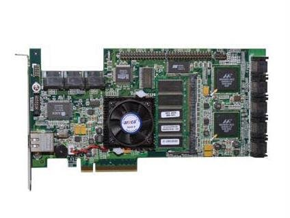 - Areca ARC-1260 16 Port Serial ATA RAID Controller - 256 MB ECC DDR SDRAM - PCI Express x8 - Up to 300 MBps - 16 x7-pin Serial ATA/300 - Serial ATA Internal