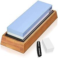 Knife Sharpening Stone Set Premium Chef Quality Whetstone wetstone1000/6000 Waterstone 2 Side Grit Knife Sharpener…