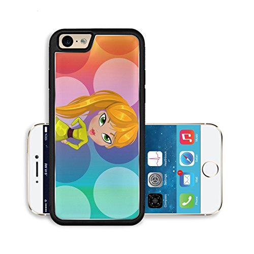 Liili Premium Apple iPhone 6 iPhone 6S Aluminum Backplate Bumper Snap Case Image ID 22066678 Party Girl Blonde Hair Fashionable vector (Bubbly Blonde)