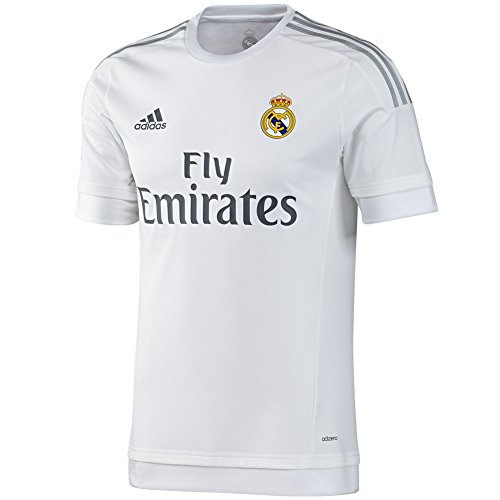 - adidas Mens Real Madrid Home Replica Soccer Jersey X-Large