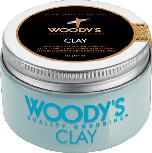 Woody's Pomade - Quality Grooming for Men - 3.4 oz