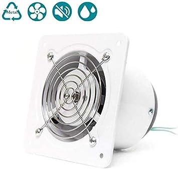 L&WB Extractores @ Escape Estándar Ventilador 100 Mm, Montaje En Pared, para Cuartos De Baño, Aseos, Oficina, Bajo, Bajo Consumo De Energía, Volumen De Aire: 140 M³ / H