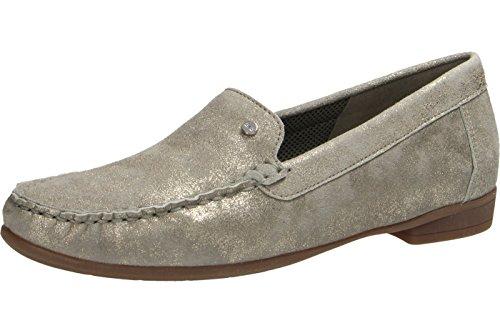 ara Women's Loafer Flats Beige v6R8Z