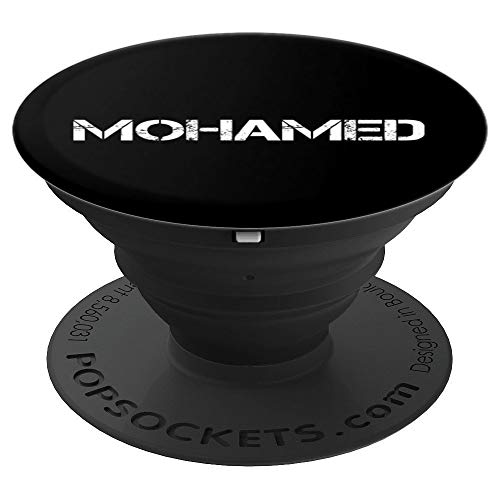 MOHAMED Art Funny Arabic Name Somalia Muslim Gift Idea - PopSockets Grip and Stand for Phones and Tablets -