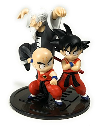Dragon Ball Imagination Figure 11 Trading Figure - Kid Goku / Krillin / Jackie Chun