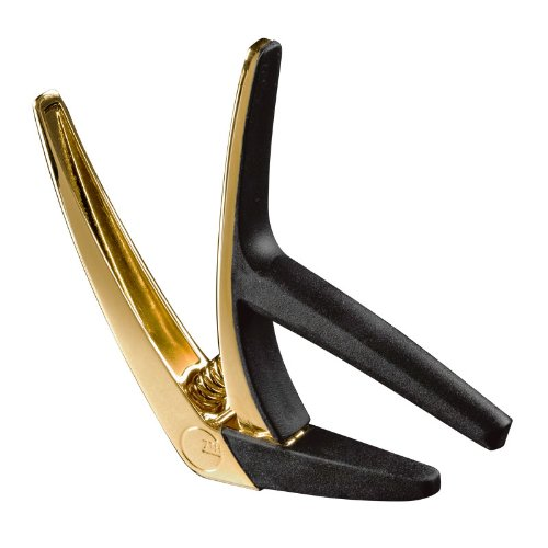 G7th Performance Capos G7 Nashville GOLD 18K Gold Plate Spring Loaded Guitar Capo