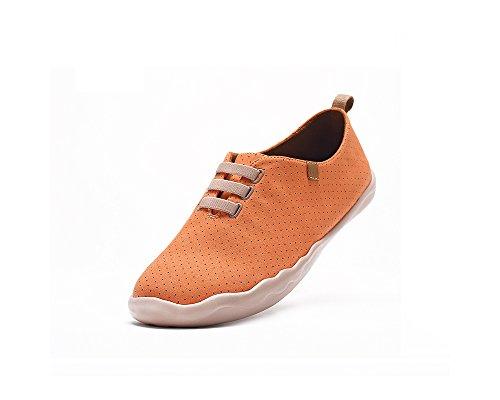 Uin Mens Moguer In Microfibra Comfort Slip On Scarpa Arancione