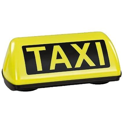 Rótulo de taxi para el techo del coche, amarillo, led, luz ...