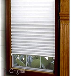 Affordable Light Filtering Instant Temporary Paper Blinds Semi Permanent 91cm X 182cm Colour