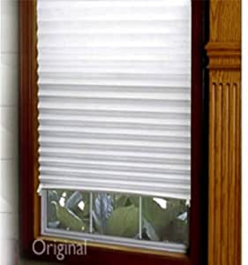 redi shade 3162209 36 x 72 redi shade light filtering pleated window shade home. Black Bedroom Furniture Sets. Home Design Ideas