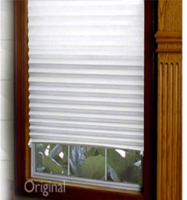 Amazoncom Redi Shade 3162209 36 X 72 Light Filtering Pleated