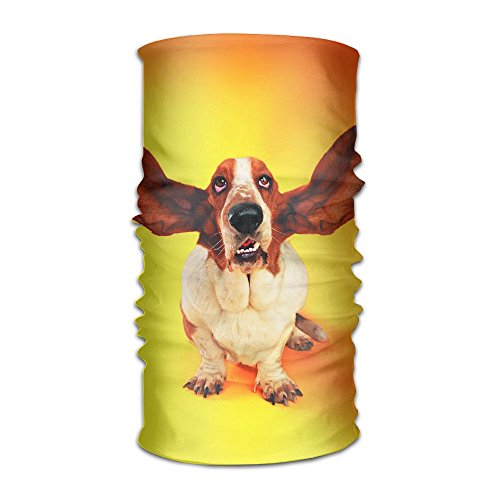 Magic Headwear Funny Dog Clip Arts Outdoor Scarf Headbands Bandana Mask Neck Gaiter Head Wrap Mask -