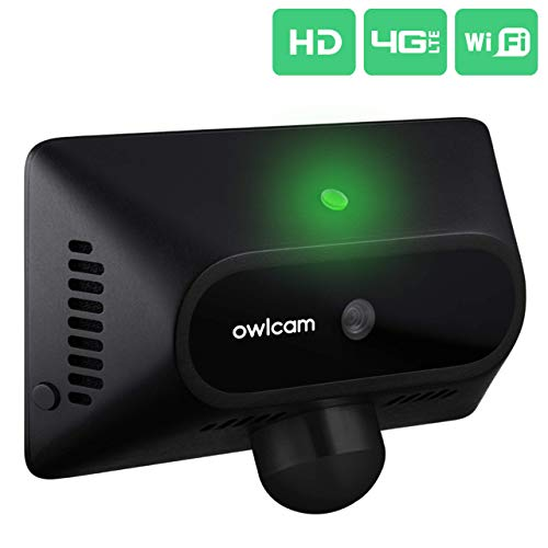 Owlcam: The 4G LTE Smart Dash Camera That Sends Video to Your Phone – Driving & Parked. Dual HD Cameras, Video Alerts, Live View, History, Crash Assist, Hands-Free Voice Control, 2-Way Talk (US Only)