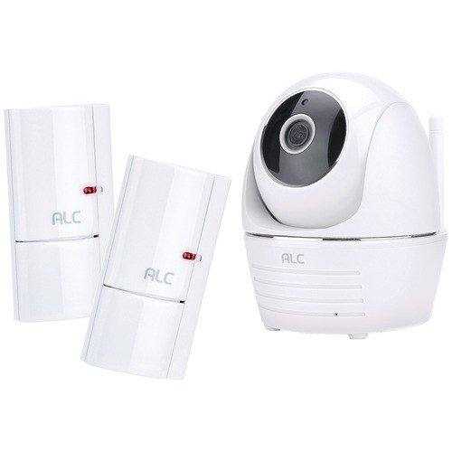 ALC SensorCam II Wireless Security Camera System with Full HD Pan & Tilt Camera and 2 Door Window Sensors -  ALCAWF33S2