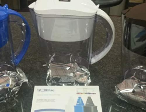 ALKALINE pH PLUS WHITE ionized Water PITCHER, 3.5 L By WellBlue, 3 Filters (6 Month Supply). (Best Water Ionizer Pitcher)