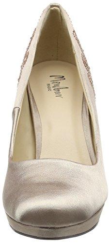 Chaussures du Talons Femme Taupe Menbur Couvert Avant Pieds Beige Nogueras à qXUfn5t