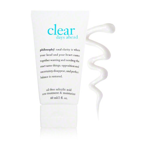 Philosophy Clear Days Ahead Oil-Free Salicylic Acid Acne Treatment and Moisturizer