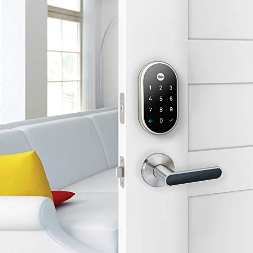 Nest x Yale - Smart Lock with Nest Connect - Satin Nickel