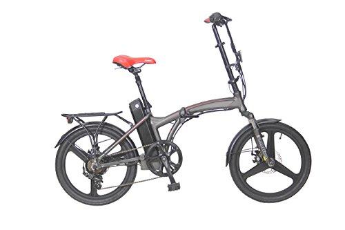 Go4Joy E-Faltrad City E-Bike bis 90km Reichweite und Samsung Akku Zertifiziert